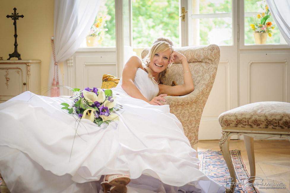 Svatba na zámku Chyše