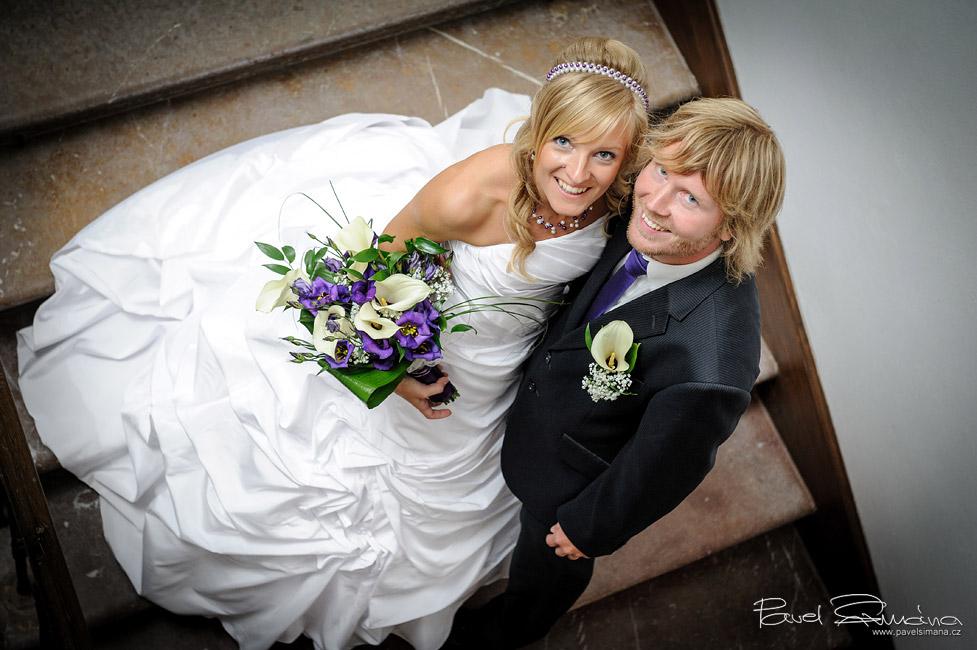 Svatební den na zámku Chyše