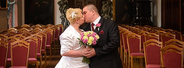 Svatba - Lucka a Honza (Zámek Manětín)